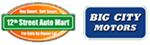 12th Street Auto Mart & Big City Motors Logo