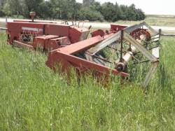 1950 HESSTON SELF-PROPELLED WINDROWER
